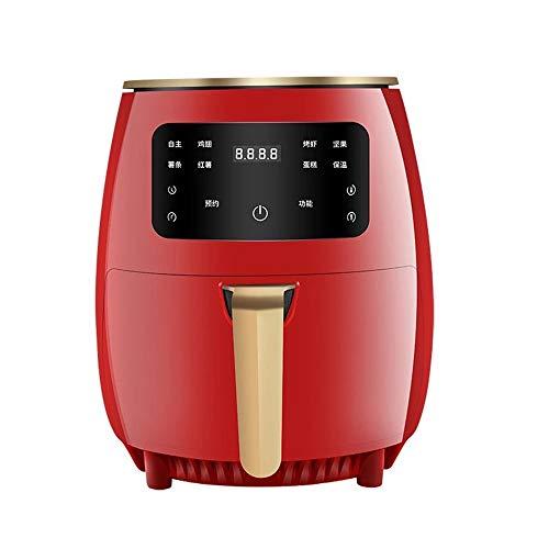 Raypow Freidora de Aire sin Aceite Roja · Pantalla Táctil Multifunción · 4.5L 1400W · Cocina Baja en Grasa y Más Saludable · Protección contra el Sobrecalentamiento