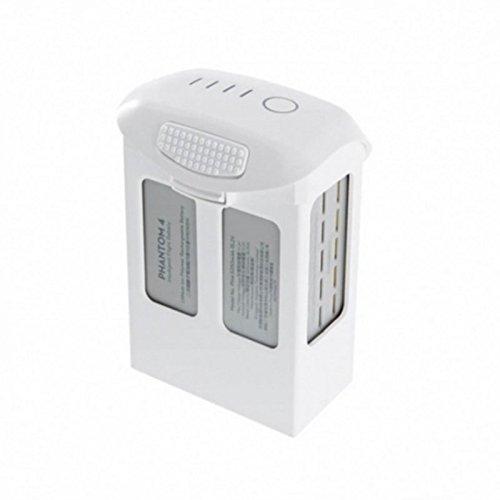 Fytoo 15.2V 5870mAh Lipo Batterie Akku für Original DJI Phantom 4 High Capacity Intelligent Flight Batterie Weiß für Advanced / Pro