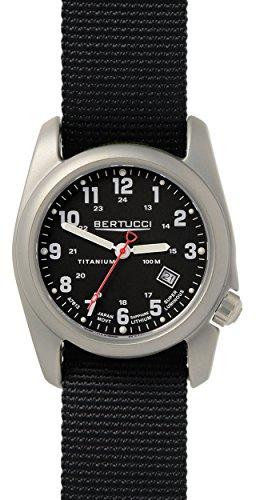 Bertucci Black Quartz Analog Men's Watch 12722