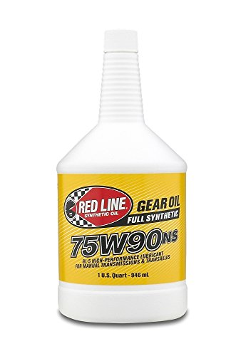 Red Line 75W90NS Gear Oil- Pack of 4 Quarts :
