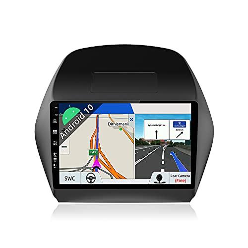 JOYX Android 10 Autoradio para Hyundai IX35 (2010-2017) - [2G+32G] - Gratis Cámara Canbus - 10.1 Pulgada - 2 DIN - 2.5D Pantalla - Apoyo Dab 4G WLAN Bluetooth Carplay Control del Volante Andro