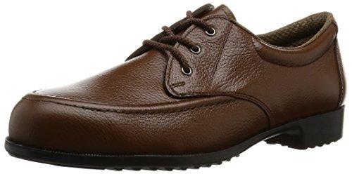 [ミドリ安全] 安全靴 JIS規格 L種 女性用 短靴 LPT410 ブラウン 23.5 cm