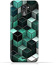 infinix Hot 4 Pro X556 TPU Silicone Protective Case with cubes Design
