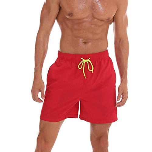 Oyedens Costume da Bagno per Uomo - Shorts da Bagno - Disponibile in Tanti Colori alla Moda e nelle Pantaloncini e Calzoncini da Bagno per Uomo Pantaloncini da Mare Uomo