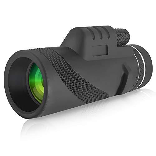 Great Features Of ZYBD Monocular Telescope, HD 40X60 Waterproof Shockproof HD BAK4 FMC Monoscope for...