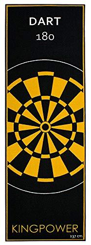 Dartmatte Dartteppich Dart Matte Turnier Matte Darts 237 x 80 cm Kingpower