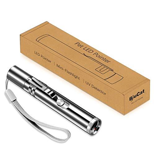 BiuCat C7 Jouets pour Chats 3 en 1, Jouets de Chat Pointeur de LED avec Port USB Intégré Rechargeable pour Vos Animaux Domestiques à Attraper