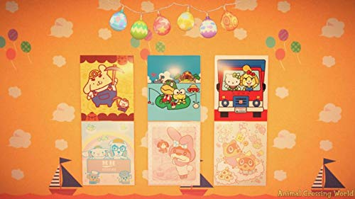 Amiibo Karten: Animal Crossing: New Leaf – Sanrio Collaboration Pack (6 Stück) - 8