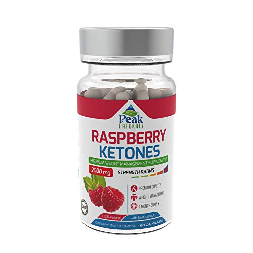 Strongest Raspberry Ketones for Weight Loss 2000mg Vegan Friendly Increase Fat Burn Boost Metabolism Pure Raspberry Ketones with All Natural Raspberry Fruit Extract Made in The UK