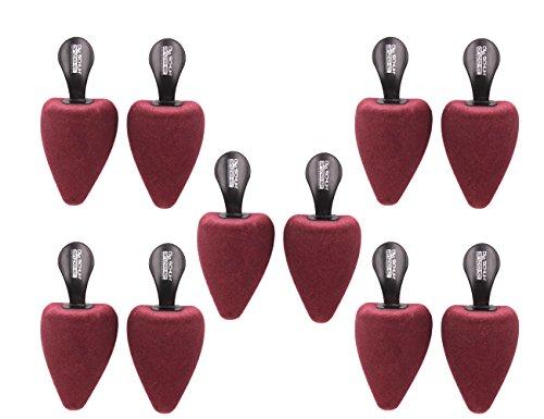 Die Schuhanzieher 5 Paar Set – Schaumstoff Schuhspanner mit Griff – Form spitz – Made in Germany – z2479(39-42)