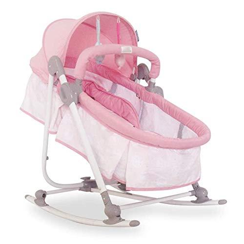 YEDENGPAO Bébé Électrique Berceau, Pliant Apaisez Mentir Rocking Chair, Multi-Fonction De Couchage pour Bébé Nouveau-Né Panier Artefact Rocking Shaker pour New Born Baby