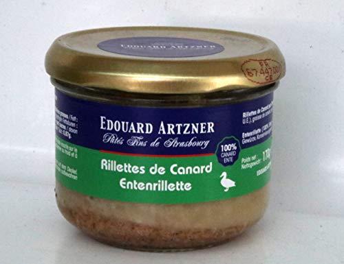 Entenrillette Rillettes de Canard von Feyel Edouard Artzner, 170g.