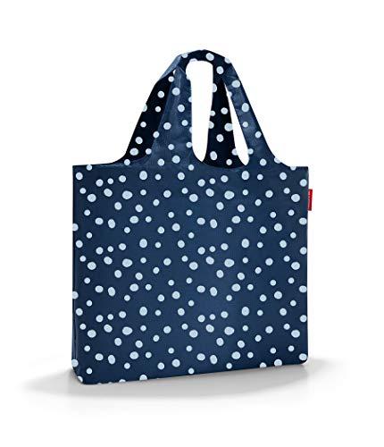Reisenthel mini maxi Beachbag torba plażowa, 62 cm, 40 litrów, Spots Navy (niebieski) - AA4044