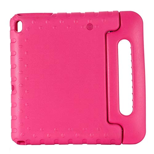 GHC PAD Cases & Covers For Lenovo Tab E10 TB-X104F, Kids Shockproof Full Body Handle Stand Cover For Lenovo Tab E10 TB-X104F 10.1 Inch (Color : Rose Red)