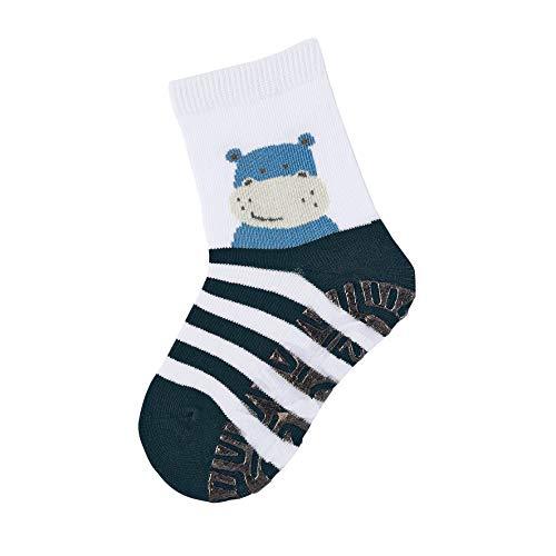 Sterntaler Baby Jungen Fli Fli Sun Nilpferd Socken, Blau (Marine 300), 18-24 Monate EU