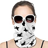 Unisex Balaclavas Musical Instruments Windproof Face Scarf Dust Sun Protection Face Cover Multifunctional Variety Head Scarf for Outdoor Sport Running Hiking,Etc Black
