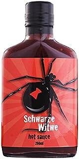 Schwarze Witwe Hot Sauce 229 000 Scoville - Black Widow - 200 ml