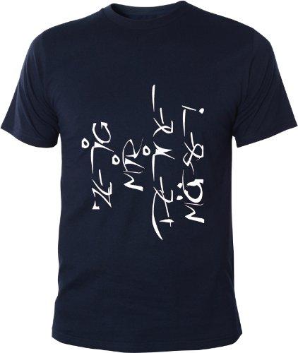 Mister Merchandise Cooles Herren T-Shirt Zeig Mir Deine Möpse!, Größe: XXL, Farbe: Navy