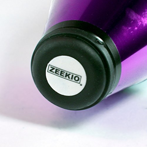 Zeekio Pegasus Juggling Club -Set of Three - Purple Green Gold