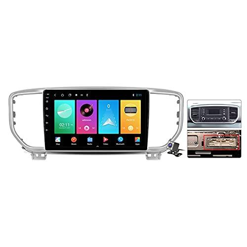 9 Pollici Autoradio 2 DIN Android 11 per Kia Sportage 4 QL 2018-2019 Supporto GPS FM AM RDS/Bluetooth/Carplay Android Auto/Voice Control/Controllo del Volante/Sistema Multimediale,Plug a,M600S
