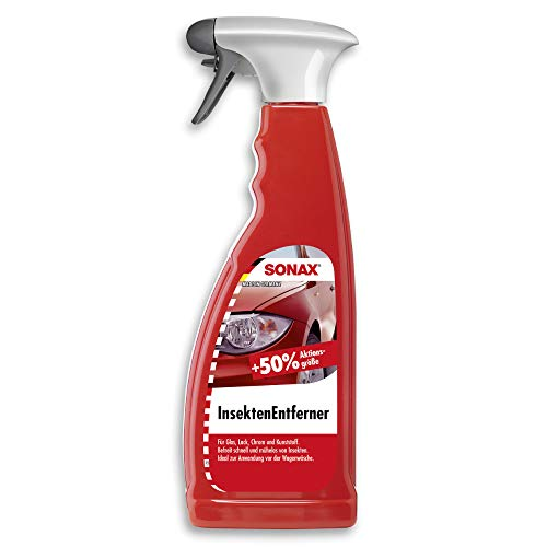 SONAX InsektenEntferner (750 ml) entfernung von Insektenresten auf Glas-, Lack-, Chrom- und Kunststoffoberflächen | Art-Nr. 05334000