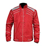 MJ Beat It Red Thriller Cordura Jacket, XXS-3XL (X-Large (Best for Chest Size 46))