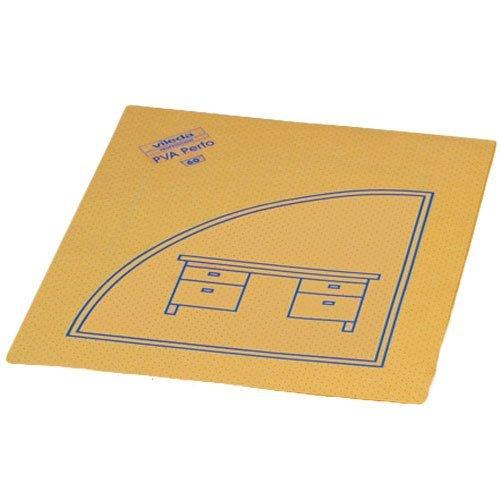 Vileda Lochtuch 'PVA Perfo' 35x40cm mit Piktogram Schreibtisch VE=10 Stück