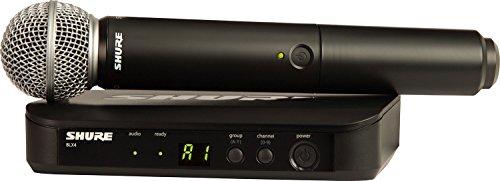Shure BLX24/SM58 radio microfono wireless professionale