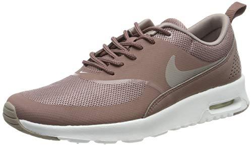 Nike Damen Air Max Thea Sneaker, Braun (Smokey Mauve/Pumice-Summit White 206), 38.5 EU