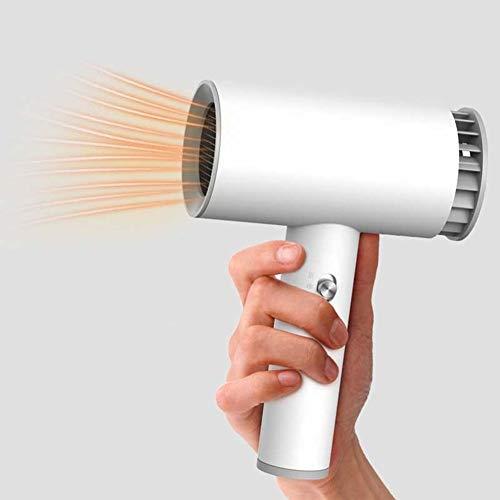 Secador de pelo inalámbrico, Secador de pelo portátil de viaje, Mini secador de peso ligero, USB 2000mAh recargable, Secador de pelo inalámbrico, para pintura artística/Hogar/Exterior