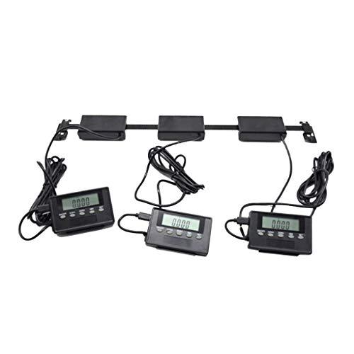WHEEJE 24 pulgadas DRO Digital LCD grande lectura de la escala Compatible with Mill Torno 24 pulgadas / 600 mm de alcance, precisión ± 0,20 mm / ± 0.0079 pulgadas 1 pieza