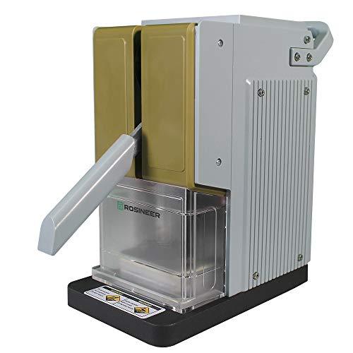 Rosineer Presso Heat Press Machine, 1500 lbs Force, Portable, Dual Channel Temperature Control, Veteran Green Color