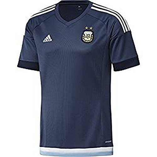 Adidas Mens Climacool Argentina Away Replica Soccer Jersey Large