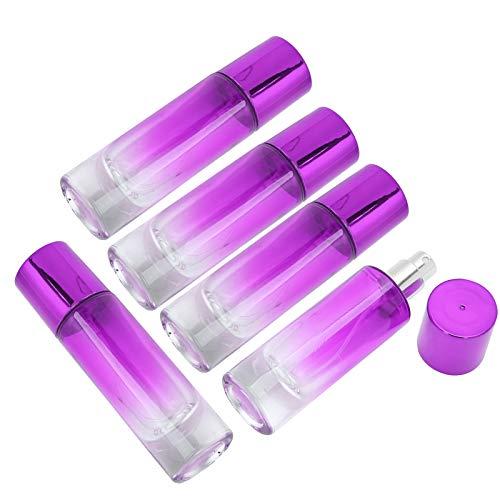 Envase de perfume Botella de spray de perfume portátil para uso doméstico para mujeres y niñas para viajes de uso para perfume(purple)