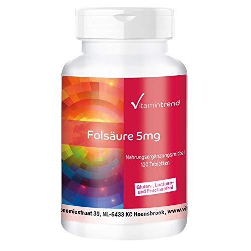 kruidvat foliumzuur 5 mg