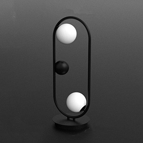 Bureaulampen, tafellampen en tafellampen, industriële stijl, creatieve Europese stijl, Saturno, driedimensionale tafellamp, tafellamp