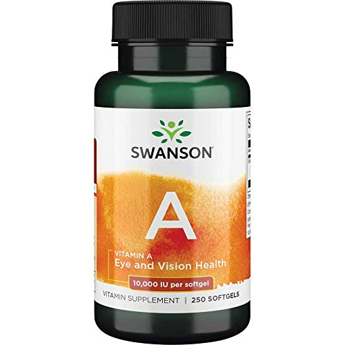 Swanson 10000 Iu Vitamina A 250 Softgels - 250 g