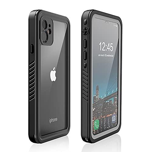 Custodia Impermeabile iPhone 11 (6.1') [IP68 Certificato Waterproof] Antiurto Antipolvere Resistente Subacquea Phone Cover