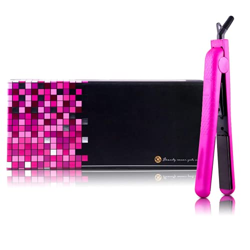 """Royale 100% Ceramic Tourmaline Ionic Flat Iron Hair Straightener 