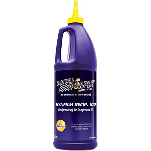 Royal Purple 01513 Synfilm Recip 100 High Performance Synthetic Air Compressor Lubricant - 1 qt.