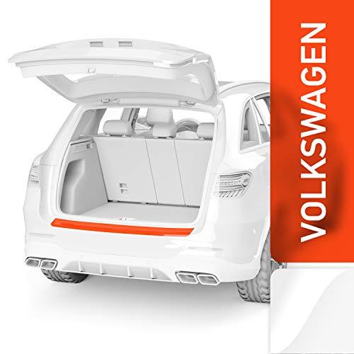 Luxshield Ladekantenschutz Folie inkl. Profi-Rakel - Golf Sportsvan I 2014-2020 - Stoßstangenschutz, Kratzschutz, Lackschutzfolie - Transparent glänzend Selbstklebend