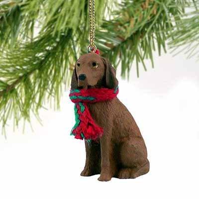 1 X Vizsla Miniature Dog Ornament