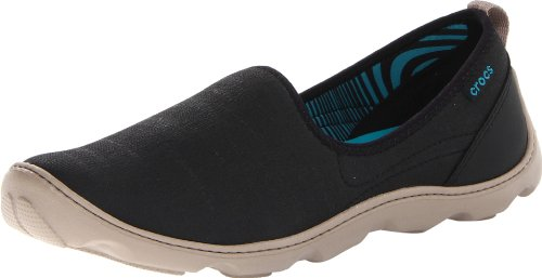 crocs Women's Duet Busy Day Natural Shoe