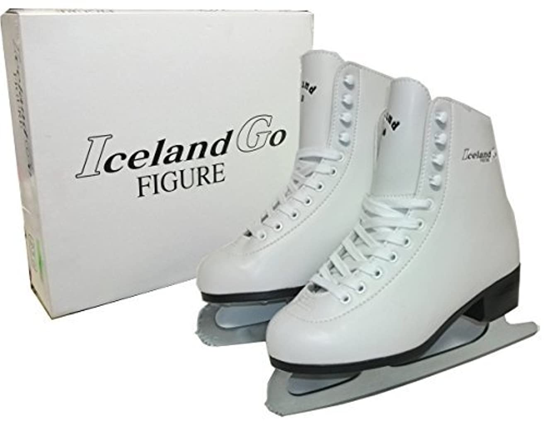 処理内訳アレルギーIceland Go フィギア スケート サンエス GF-700 フィギュア 靴付 研ぎ済み フィギュアスケート
