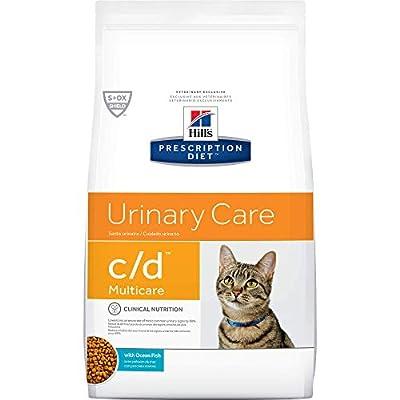 Hill'S Prescription Diet C/D Multicare Feline Urinary Care - Ocean Fish - 4Lb