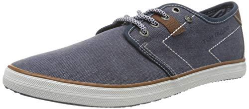 TOM TAILOR Herren 8081503 Sneaker, Blau (Navy 00003), 42 EU