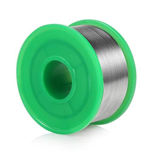 0.8 mm Filo per Saldatura Stagno, Filo di Saldatura Senza Piombo Sn99.3 Cu0.7 con Colofonia Nucleo per lavori di saldatura elettronica (50g)