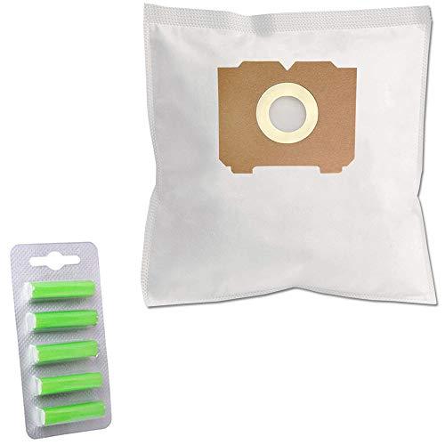 PRODUCT2SELL 5 ambientadores + 5 bolsas de aspiradora prémium adecuadas para AEG AE4594 | AE 4594 Ergo Essence 2000 W | Ergo Essence AE 4594 | Ergo Essence 4594