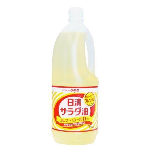 日清 サラダ油 1500G × 10本