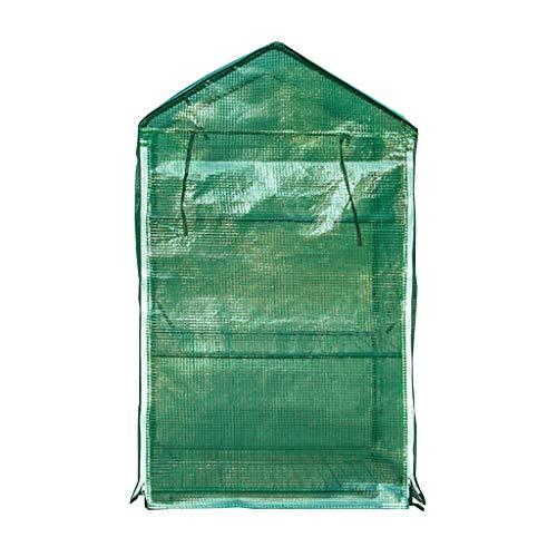 Serres Mini Grandir Maison, Couverture à Effet de Intérieur Extérieur Cour arrière PVC, Petit Portable Jardinage Couverture végétale Flower Garden Abri